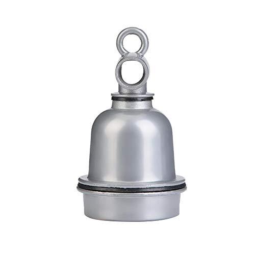 Fdit Reptile Lampenfassung Keramik Hochtemperatur-Heizlicht-Sockel Brooder E27 Glühlampe -