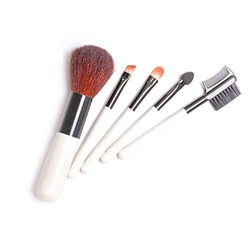 Make-up Pinsel Für Gesichtskonturen, einfach aufzutragen, langsame Freisetzung, nicht einfach zu agglomerieren -5-teilige Magnet-Make-up-Pinsel Fünfteilige Make-up-Kosmetik für Anfänger Kosmetika