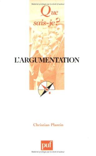 L'argumentation : Histoire, théories et perspectives