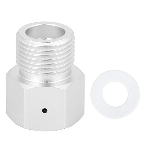 Liineparalle Aluminium Zylinder Adapter Adapter CO2 Tank zu Argon Regler Soda Maker Externer CO2 Tank System Adapter Kohlendioxid Tank Fitting MEHRWEG VERPAKUNG -