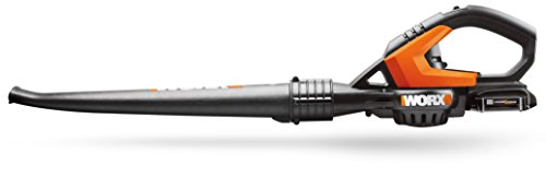 Worx make a great range of tools at affordable prices and this Worx WG549E 20V Lithium-Ion Cordless Leaf Blower is the smallest leaf blower they manufacture.