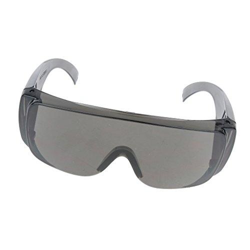 gazechimp Voller Grauer Laborsicherheits Schutzbrillen Schützender Optischer Schock -