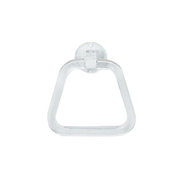 Admire Towel Ring Triangular Acrylic Towel Holder