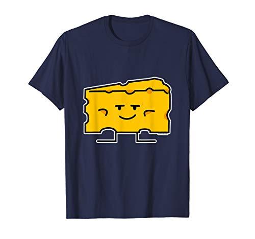 Block aus Käse Milch Milch Eiweiß Fett Keil T-Shirt (Von Block Käse)