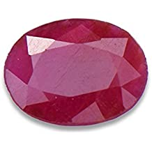 Parkash Bhagya Ratan Manik/Ruby Lab Certified 6.25 Ratti, 1.100 GMS Best Ruby Natural Loose Gemstone