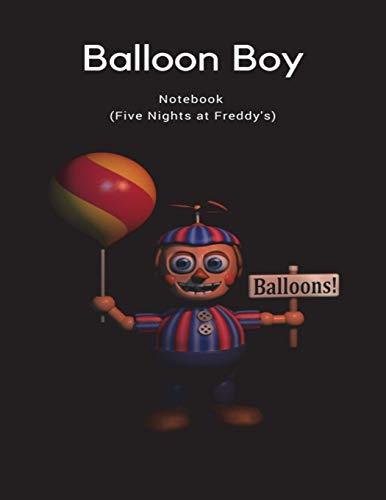 Balloons! Balloon Boy Notebook (Five Nights at Freddy's) por Fandil Made