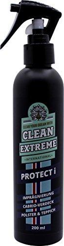 CLEANEXTREME PROTECT i Auto Imprägnierspray 200 ml - Imprägnierung für Cabrio Verdeck, Polster, Teppich, Textil