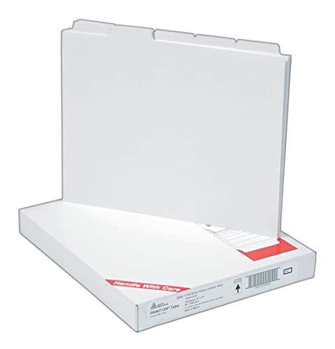 Avery Copier Tab Teiler, ungelocht, 5Tab, Weiß, 30Sets (20405), 150Blatt (insgesamt) - Teiler Tab Weiß 5