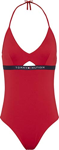 Tommy Wmn One Piece 1425 Red Größe: S Farbe: Red - Front-tie Damen-bademode
