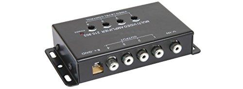 Quecksilber 4 Kanal Video Signal Verstärker/Splitter Video-signal-splitter