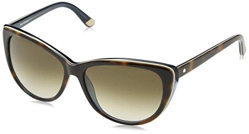Juicy Couture Damen JU 538/S Y6 9K8 Sonnenbrille, Blau (Tortoise Blue/Brown Shaded), 57