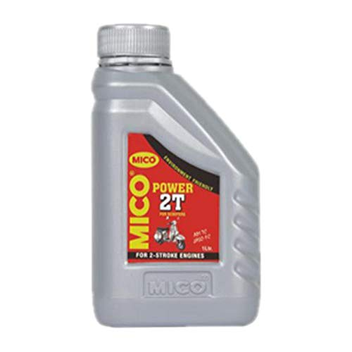 MICO Power 2T Oil - API TC Engine Oil for Air-Cooled 2-Stroke Cycle Engines (1 LTR.)
