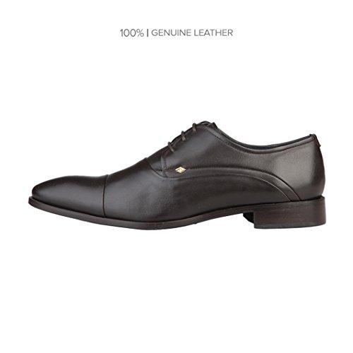 Rochas  Davlo1t, Chaussures de ville à lacets pour homme Marron