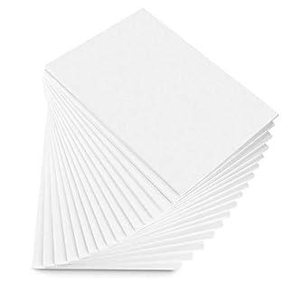 STARVAST – Tablero de espuma (A3, 16 hojas de poliestireno, 5 mm de grosor, papel duro, exterior de espuma, para fotos y carteles de boda (297 x 420 mm)