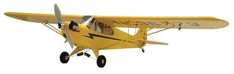 Piper Cub J-?lectrique 3 PILOTE laser kit de balsa de coupe (en avion) ??12140 (Japon import / Le paquet et le manuel sont ?crites en japonais)