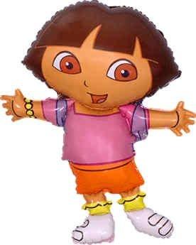 Dora geformt im Explorer Balloon 26