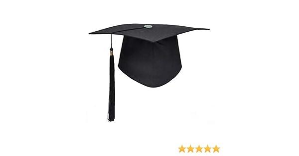 vraiment à l'aise magasin discount caractéristiques exceptionnelles Accessoires noir Relaxdays 10020592 Toque étudiant ...