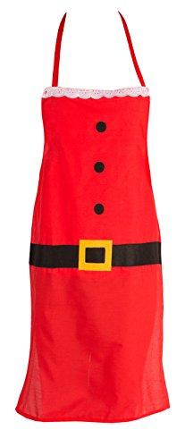 Kostüm Claus Mutter - Unisex Weihnachts-Schürzen, Schürzen für Erwachsene Style 02