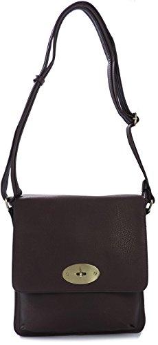 Big Handbag Shop, Borsa a tracolla donna Nero (nero)