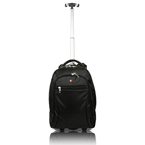 *Snowball – Sac a dos trolley PC 45cm – Noir prêt à acheter