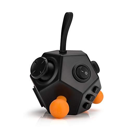 Fidget Cube 12 Seiten Stresswürfel [Anti Stress Spielzeug] Entspannung für Jung und Alt von PhoneStar
