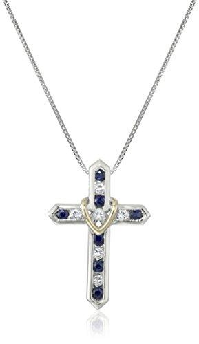 plata-de-ley-14-k-oro-amarillo-y-azul-y-blanco-sapphire-cruz-tu-colgante-de-corazon-18-