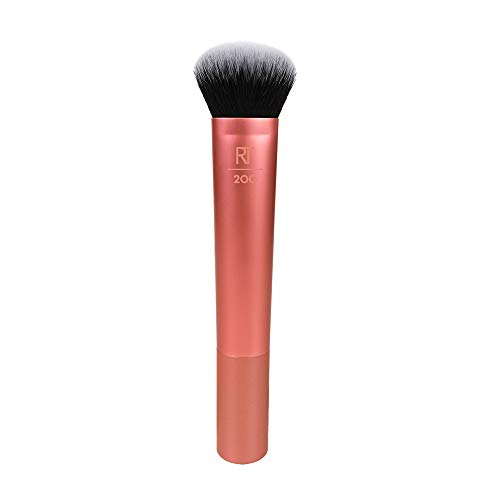 Real Techniques Expert Face Makeup Brush for Foundation (Packaging and Handle Colour May Vary)