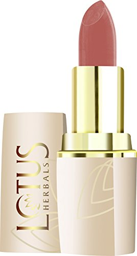 Lotus Herbals Pure Colors Lip Color, Nude Glow, 4.2g