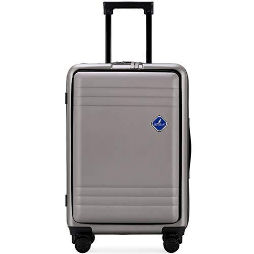 Flight Case Maleta con Maleta para Equipaje de Mano, con ABS Incorporado y con TSA Incorporado. Cerradura de combinación de 3 dígitos aprobada por TSA, ángulo de Apertura Ajustable.