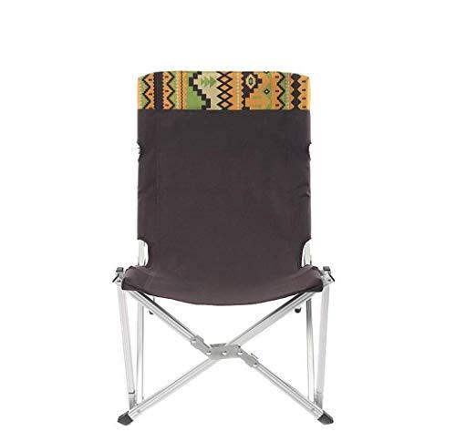 Unbekannt Klapp Camping Stuhl Ma Za Hocker Leichter Rucksack Stuhl Outdoor, Camp, Picknick, Wandernportable Loveseat Picknick Stuhl Camping Hocker Klapp Hocker,42 * 45 * 70cm - Aluminium Loveseat Bank
