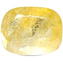 Parkash Bhagya Ratan Ceylon Pukhraj/Yellow Sapphire Lab Certified 4.33 Ratti, 3.91 Cts Sri Lanka Mines Natural Loose Gemstone