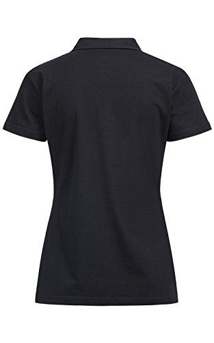 BANQERT Polo Floreal | Rémunération FAIR (travailleurs) | Fabriqué à Maurice | 100% pro-ability Coton Noir