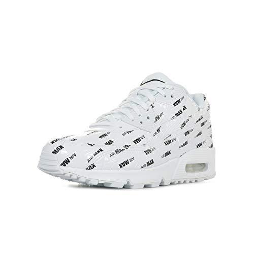 Nike Air Max 90 Premium, Scarpe Running Uomo, Bianco White/Black 103, 46 EU