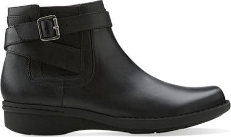 Clarks Womens Whistle Arbuste Boot Black