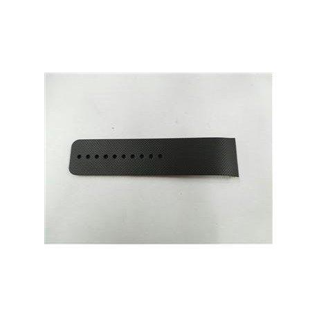 Correa original color negra de la parte izquierda para Samsung SM R380 Gear 2, SM R381 Galaxy Gear 2 Neo gris negro y correa ajustable   GH98 32314A