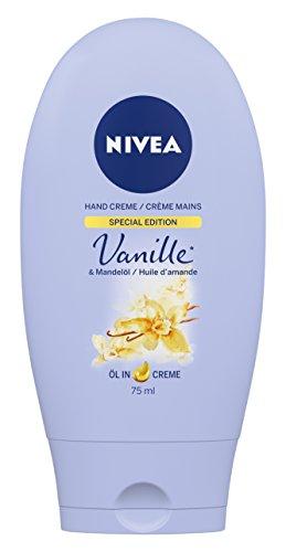 Nivea Vanille & Mandelöl Hand Crème, 4er Pack (4 x 75 ml)