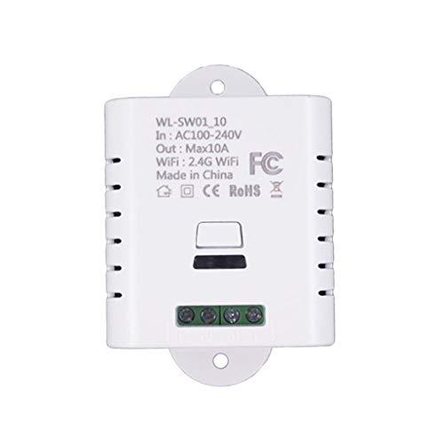 TAOtTAO Smart Wi-Fi-Switch-Änderungskontrolle leuchtet -