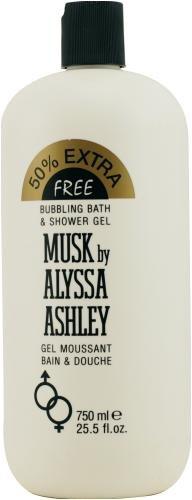 Alyssa Ashley MUSK Bubbling Bath Duschgel 750 ml limitierte Auflage