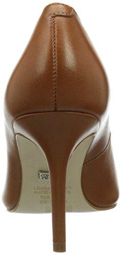 Buffalo London - Zs 2990-13 Semi Cromo, Scarpe col tacco con cinturino a T Donna Marrone (COGNAC 01)