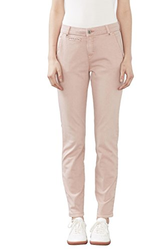 edc by Esprit 027cc1b032, Pantalon Femme, Rose (Old Pink), W36 (Taille Fabricant: 36/REG)