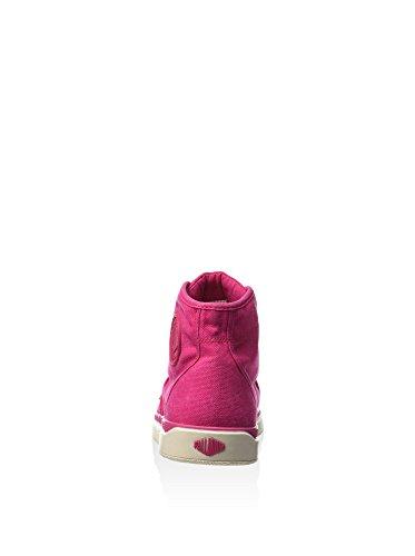Palladium Pallarue Hi Cvs, Chaussures en Forme de Bottines Femme Rose