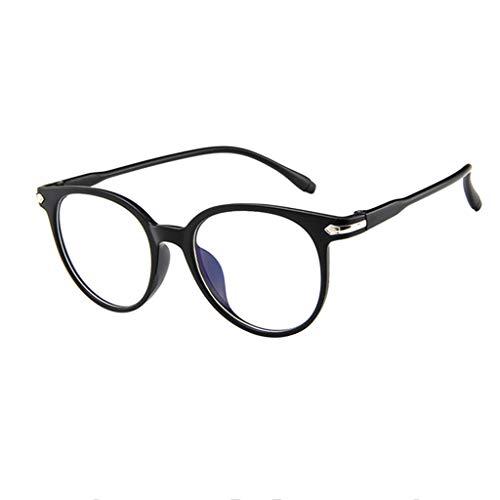Snakell Sonnenbrille Cat-Eye Schwarz Braun Designer-Brille Katzenaugen Hornbrille Nerd Brille Klar...