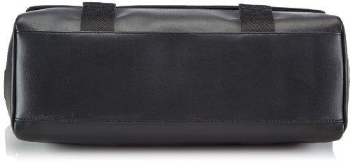Calvin Klein Jeans HARD & HEAVY MESSENGER J5EJ500040 Damen Umhängetaschen 38x27x14 cm (B x H x T) Schwarz (BLACK 990)