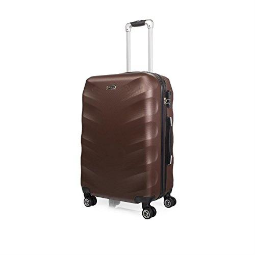 Trolley ABS Mediana - Color Vino