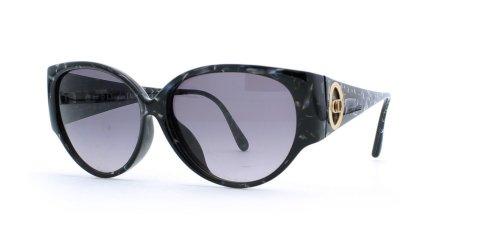 Christian Dior Damen Sonnenbrille Schwarz Black Blue (Eyeglasses Black Dior Christian)