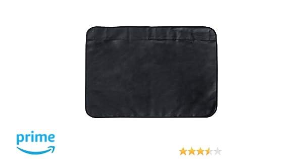 1 Packung Vordersitzbezug HCMAX Vier Jahreszeiten Atmungsaktiv Car Interior Sitzkissen Abdeckung Pad Matte PU-Leder Bambus-Kohle