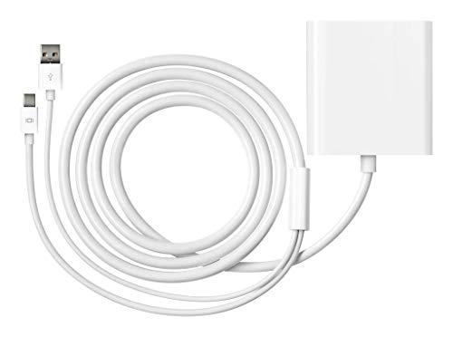 Apple MB571Z/A Adaptateur Mini- DisplayPort vers DVI Double Lien pour Écran 30 Pouces