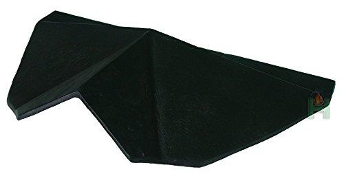Deflettore stufa a legna in ghisa per stufa a carbone forno pietra forno | dimensioni: 480x 300mm