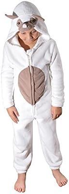 Lindo para niños y adolescentes niños niñas suave forro polar con capucha todo en uno mono, varios estilos, edades 3A 16