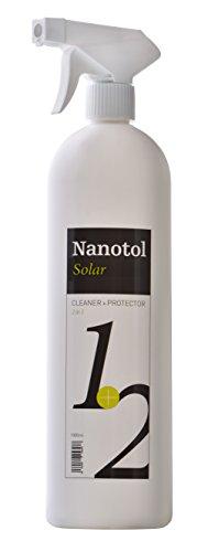 Nanotol Nano-Versiegelung und Reiniger 2in1 für Solar-Anlagen und PV-Module - für 160 m² - höhere Transmission, mehr Leistung, höherer Wirkungsgrad